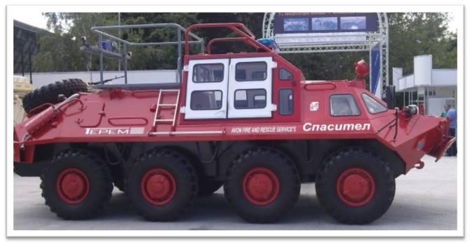 Аварийно спасителна машина